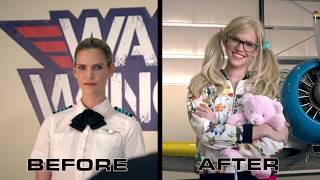 Female Pilot Surprises Flight Instructor - Maxmantv