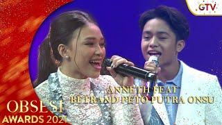 Betrand Peto Putra Onsu X Anneth Delliecia Mendung Tanpo Udan Obsesi Award 2021 MP3