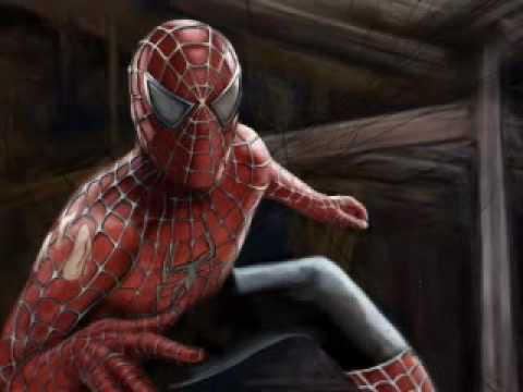 Spider-man Speed Painting By Nico Di Mattia