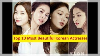 Gambar cover Top 10 Most Beautiful Korean Actresses Without Plastic Surgery