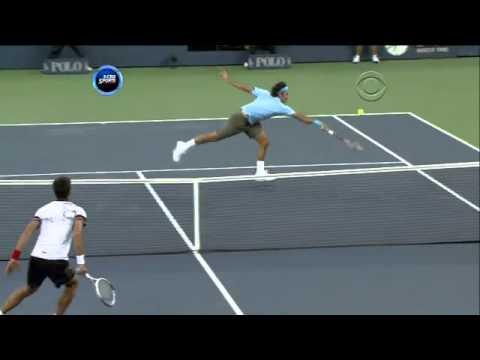 Djokovic Federer Double Drop 360p