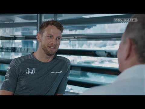 Sky F1 2017 Monaco GP - Jenson Button Interview