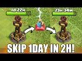 SKIP 1DAY UPGRADE TIME IN JUST 2HOURS? | LET'S USE BUILDER POTION | 10X SPEED