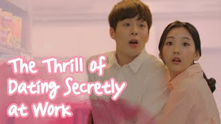 The Thrill Of Dating Secretly At Work [Real Life Love Story] ENG SUB • dingo kdrama