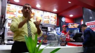مطعم كنتاكي الصم مصر KFC Deaf Egypt