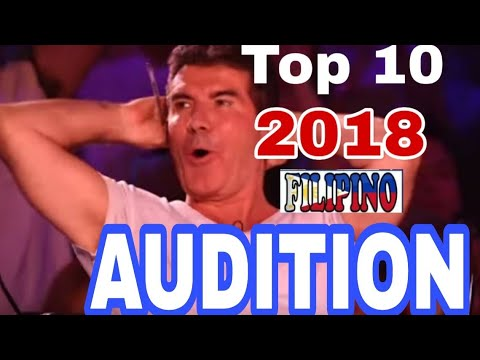 TOP 10  FILIPINO  JOINING INTERNATIONAL SINGING COMPETITION 2018 (PART 1)