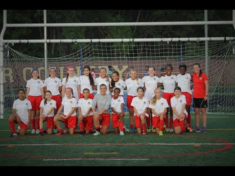 Washington Spirit Academy Red Super Y Soccer League 2015