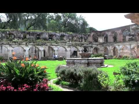 LA ANTIGUA GUATEMALA ART CULTURE AND VOLCANOS.mov