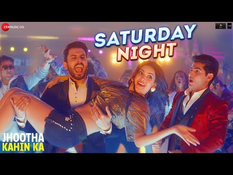 Jhootha Kahin Ka movie | Song Saturday Night |  Rishi kapoor  and Jimmy Sheirgil
