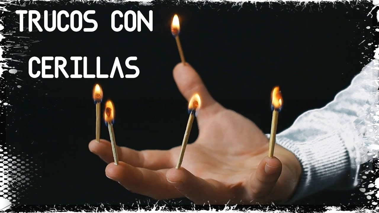 4 TRUCOS CON CERILLAS | Life Hacks ExperInventos