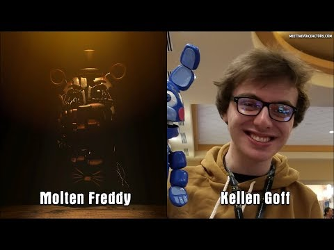 FNAF 6 Freddy Fazbear's Pizzeria Simulator Characters Voice Actors