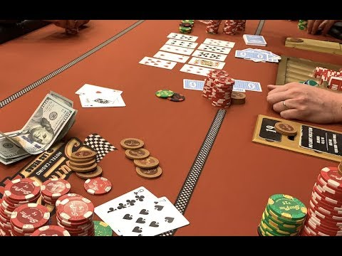 CRACKING ACES TWICE Most RIDICULOUS Hand I&39;ve Played - Poker Vlog Ep 98