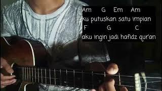 Ingin Jadi Hafidz Quran Cover (Lirik+Kunci)