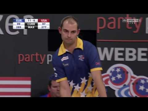 Weber Cup 2016 - Day 2 - Match 11 [Barrett vs. Malott]
