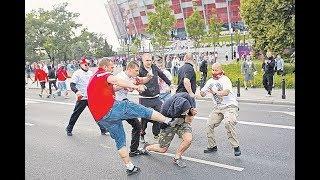 В центре Львова снова дерутся футбольные фанаты