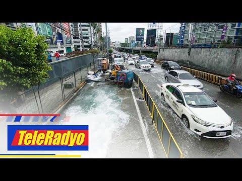 Pagkumpuni sa nasirang tubo ng Manila Water sa EDSA tapos na   TeleRadyo