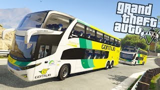 Video GTA V BusVlog: Viação Gontijo Marcopolo G7 DD Paradiso 1800 download MP3, 3GP, MP4, WEBM, AVI, FLV Juli 2018