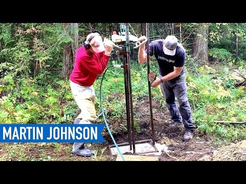 DIY Water Well Drilling | Off Grid Cabin Build #27