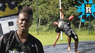 KSI FAILS the Slip 'N' Slide Challenge | Rule'm Sports