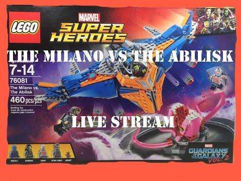 300 Subscribers Special LEGO Marvel Superheroes Milano vs Abilisk Live Build