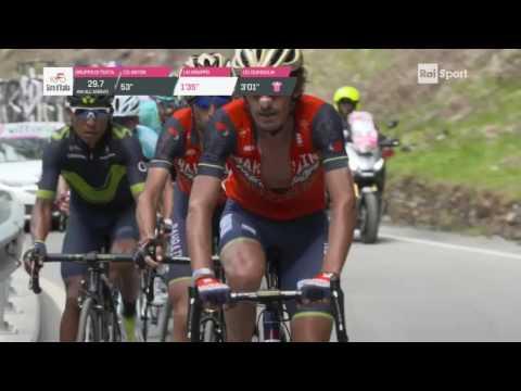 Vincenzo Nibali vince la Tappa Regina del Giro d'Italia 100