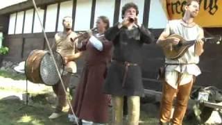 """Irregang - """"Stetit Puella"""" live beim Mittelaltermarkt Bornholm 2010"""