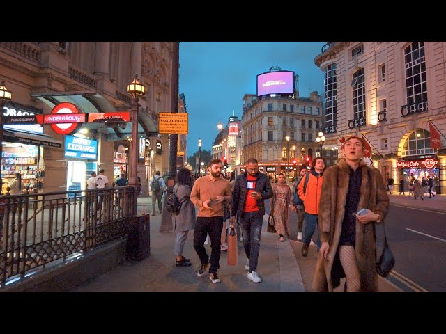 Splendid London Evening Walk from South Bank to Covent Garden, Sep 2021