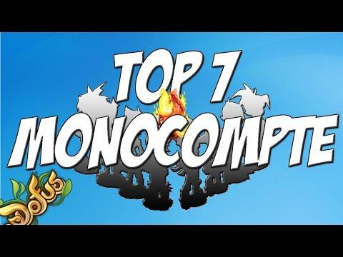 [DOFUS] MON TOP 7 CLASSE MONOCOMPTE O.P EN PVM !