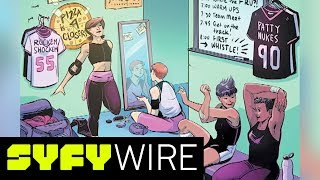 Pamela Ribon On How Roller Derby Can Change Everything | New York Comic-Con 2017 | SYFY WIRE