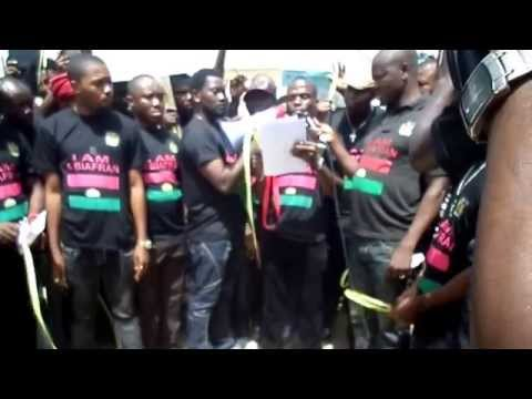 BIAFRANS IN SENEGAL.ON THE 30TH OF MAY WE ARE FORMIDABLE. PERSONAL CLIP BY Oluambassador Chigboogu
