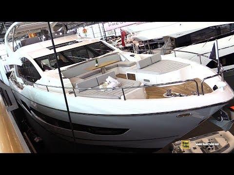 2018 Sunseeker 76 Luxury Motor Yacht - Walkaround - 2018 Boot Dusseldorf Boat Show