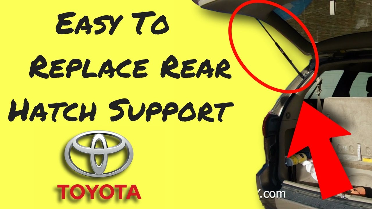 Lift Support Fit 2004-2010 Toyota Sienna INEEDUP Rear Liftgate Lift Supports Struts