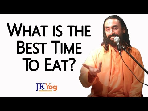 What is the best time to eat? |You become what you eat Part3| - Swami Mukundananda