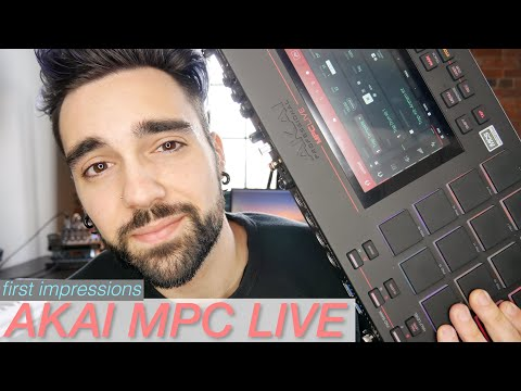 Akai MPC Live | First Impressions & Basic Workflow