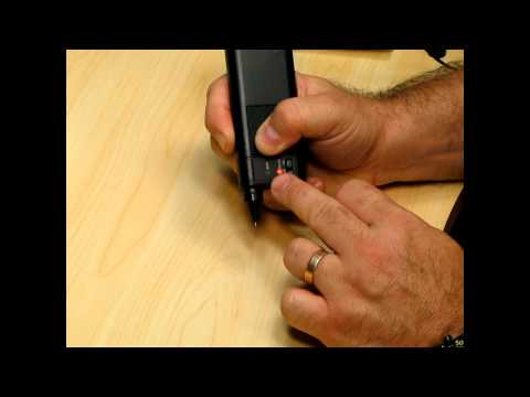 Using the Ceres Electronic Diamond Tester