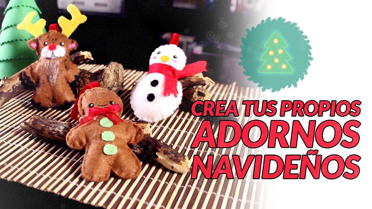 Adornos de navidad manualidades navide as manualidades for Buscar adornos de navidad