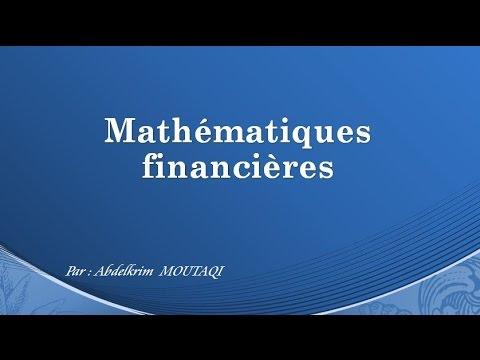 Mathématiques financières ( en darija )
