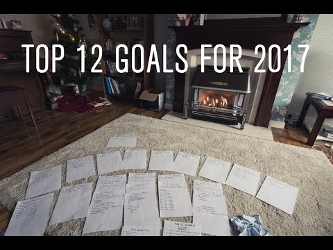 My Top 12 Goals For 2017, And The Process I Use To Uncover Them
