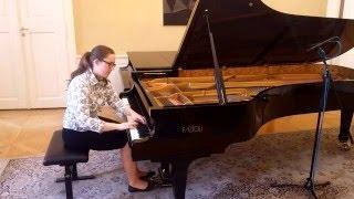 Beethoven: Piano Sonata F sharp Major op. 78 - Klara Kralickova