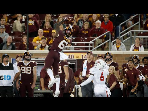 Tyler Johnson || Minnesota Gophers Wide Receiver || 2019 Highlights