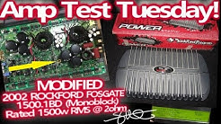 Amp Test Tuesday - Modified '02 Rockford Fosgate 1500.1bd - 1500 Watts RMS 2 Ohms