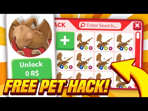 GET ANY PET FOR FREE IN ADOPT ME! Adopt Me Glitch Lets You Hack ANYTHING! (Roblox)