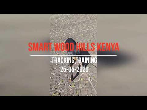 Tracking training Smart Wood Hills Kenya