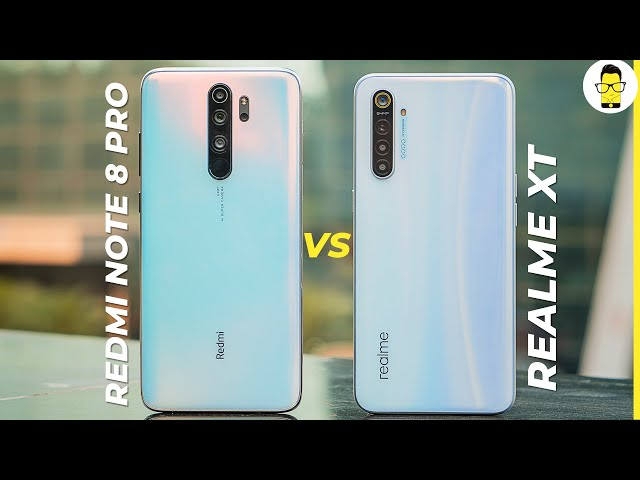 Redmi Note 8 Pro vs Realme XT: which one to buy | camera, gaming, battery compared