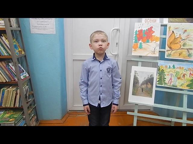 Изображение предпросмотра прочтения – ЕгорТерентьев читает произведение «Ласточки пропали...» А.А.Фета