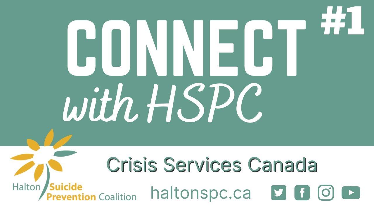 Webcast - Stephanie MacKendrick, Crisis Services Canada