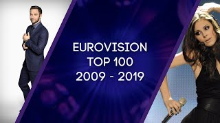 My-Eurovision-Top-100-2009-2019