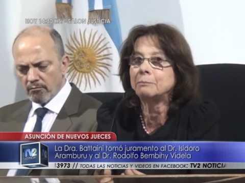 Asunción nuevos jueces | Actualidad | 05/10/2016 - TV2 Noticias