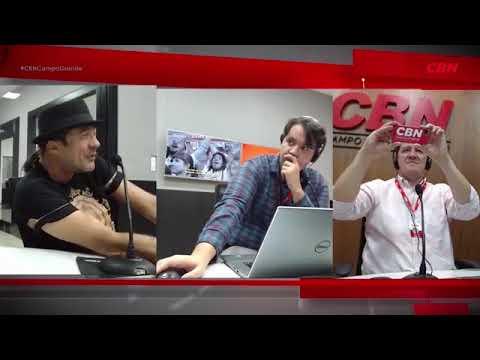 Entrevista CBN Campo Grande: Zézinho do Forró