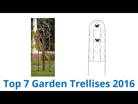 7 Best Garden Trellises 2016